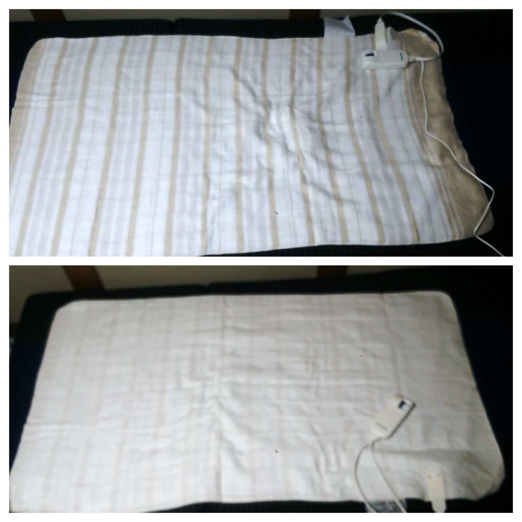 パナソニック 電気毛布 使い方